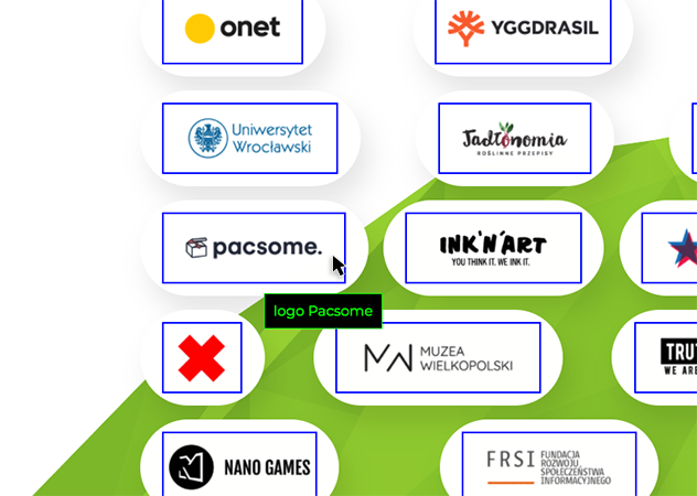 Our clients logos with alternative text added