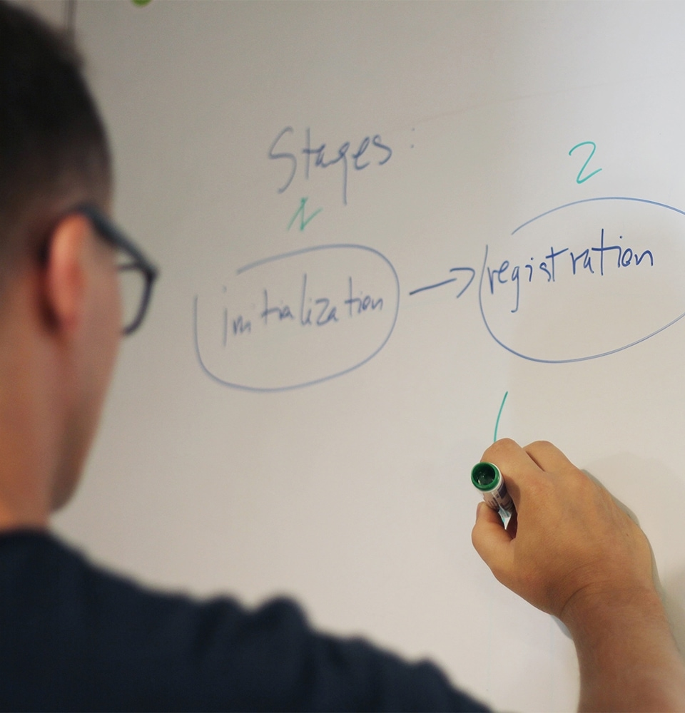 Designing application information architecture